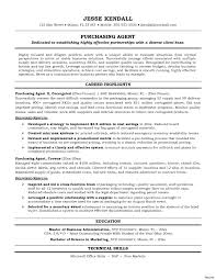 Best Solutions Of Purchasing Agent Resume Samples Cool Purchasing