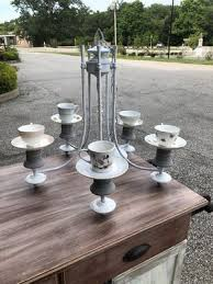 tea cup chandelier candles or bird feeder for in kent oh