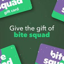 Bite Squad - Bite Squad Gift Cards! | Facebook