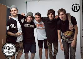 we have a whole bunch of free bring me the horizon vs of mice men pull out posters in our new issue