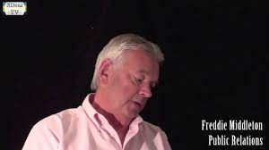 Freddie Middleton - Working with World-Famous Performers - YouTube