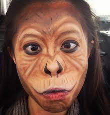 pin by connor dudley on in 2018 monkey makeup monkey face paint and makeup