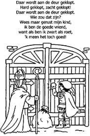 Sinterklaas Liedjes Kleurplaten Animaatjesnl