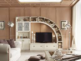 beauteous living room wall unit. fantastic design of storage furniture ideas for small living room with displaying unique white polished wood beauteous wall unit