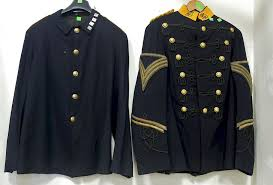 two es troop jackets including dress uniform jacket and plain jacket with metals 1894 1903 by nadeau s auction gallery 1127491 bidsquare