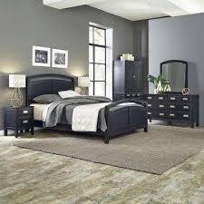 black bedroom furniture sets. Prescott 5-Piece Black Queen Bedroom Set Furniture Sets
