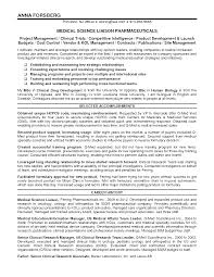 Formidable Medical Science Liaison Resume for 28 [ Medical Science Liaison  Resume Sample Bestsellerbookdb