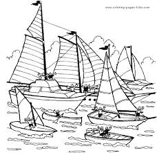Small Picture Boat coloring page Coloring pages for kids Transportation