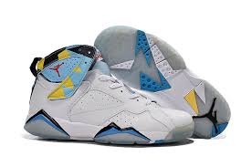 jordan shoes 2019. new air jordan 7 retro white blue yellow women shoes | pretty and colorful,outlet store 2019