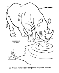 Small Picture African Animals Coloring Pages Wild Animal Coloring Pages