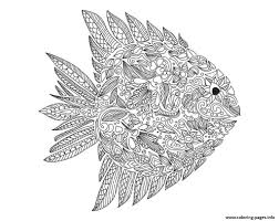 Small Picture adult zentangle fish by artnataliia Coloring pages Printable