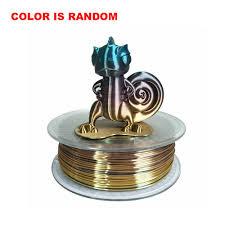 3D Printer Silk Rainbow Multicolor PLA Filament 1.75mm 1KG Multi ...
