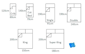 Bed Chart Mattress Measurements Chart