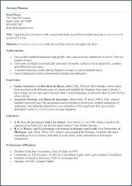 Civil Law Attorney Resume. Lawyer Resume Template Lawyer Resume ...