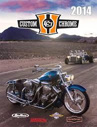 custom chrome 2014 icatalog page cover