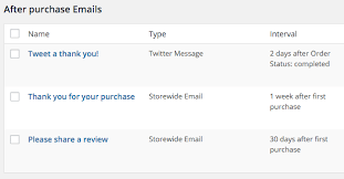 email followup follow ups woocommerce