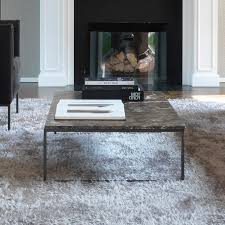 porto rectangle marble coffee table