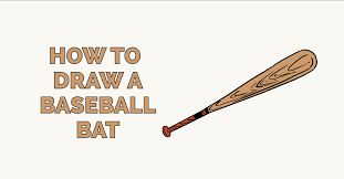 how to draw a baseball bat featured image