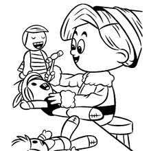 Small Picture Girl Elf Coloring Page 10jpg Coloring Pages Maxvision