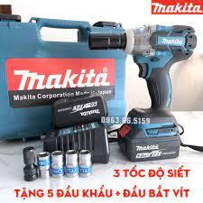 Chính Hãng] Máy bắt vít Makita 72v, 2 pin,100% dây đồng, không chổi than  giá cạnh tranh