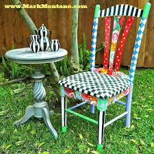 Alice In Wonderland Inspired Chair | 15 DIY Teen Girl Room Ideas
