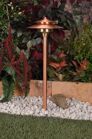 cambridge 12v copper area light by unique lighting systems