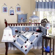 the baby boy bed sets are also advanced with the decoration and furniture of this room which apply the similar pattern and scheme