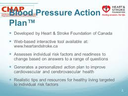 Heart Stroke Foundation Of Ontarios Blood Pressure Action
