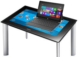 Micrsoft Table Microsoft Renames Surface Table To Pixelsense Avoids Confusion With