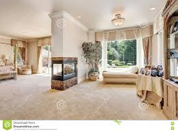 Sitting Room For Master Bedrooms Large Master Bedroom Interior In Luxury Home With Sitting Room