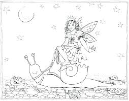 Fairy Coloring Page Tale Pages Pdf To Print Free Rainbow Magic