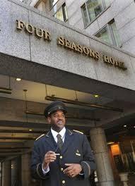 four seasons hotel philadelphia doorman greens restaurant philadelphia hotels four seasons hotel restaurants