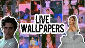 TIKTOK LIVE WALLPAPERS  