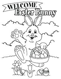 Bugs Bunny Easter Coloring Pages Color Bros