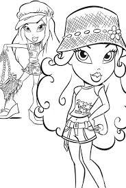 Small Picture Bratz Coloring Pages For Girls Fashion Fashion Coloring pages of