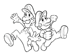 Super Mario Bros Wii Coloring Pages