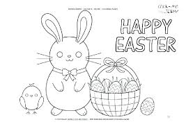 Coloring Pages Happy Easter Coloring Pages For Kids Religious