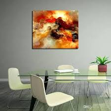 wall art abstract painting single panel modern decor canvas prints for living bedroom wine decorating dining