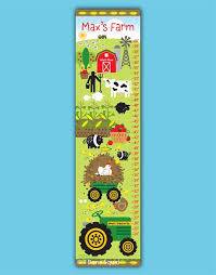 Farm Growth Chart Farm Growth Chart For Kids By Tbonesquid On Etsy Ideas For