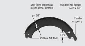 Brake Shoe Id Marathon Brake Systems