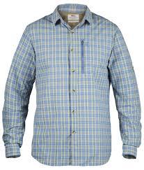 Рубашка мужская <b>Fjallraven</b> Abisko Hike <b>Shirt</b> LS Blue Ridge ...
