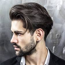 Hairstyles For Men To The Side Mens Medium Short Side Swept Hairstyles Women Medium Haircut