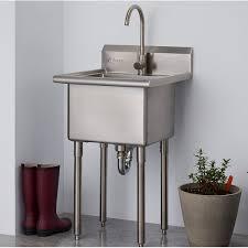 metal utility sink. Beautiful Metal Trinity 215 To Metal Utility Sink