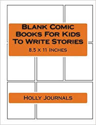 How To Write A Children S Story Template Amazon Com Blank Comic Books For Kids To Write Stories