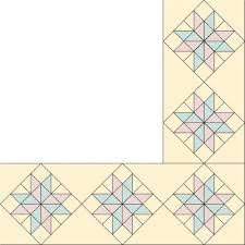 Quilt Border Patterns Amazing EightPointed Star Quilt Border Pattern HowStuffWorks