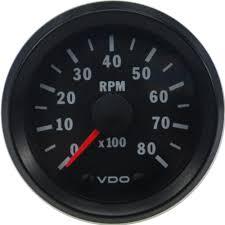 333015031 cockpit vision gauge tachometer vdo cockpit vision tachometer electric