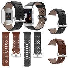 Для Fitbit ионные Кожа <b>перфорированная аксессуар</b> Band ...