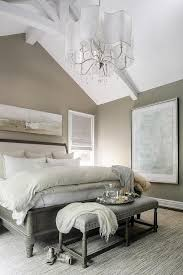 Taupe Bedroom with Sleigh Bed
