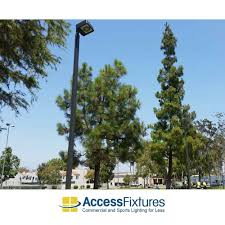 Light Poles California New Lighting For 8 Pole Led Basketball Courts In California