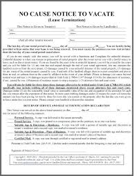 Lease Violation Form Warning Of Default On Commercial Lease Template Landlord Tenant Free